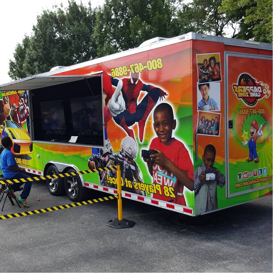 Birthday Celebration Chicago Style: Video Game Truck Birthday Party In Chicago And NW Indiana