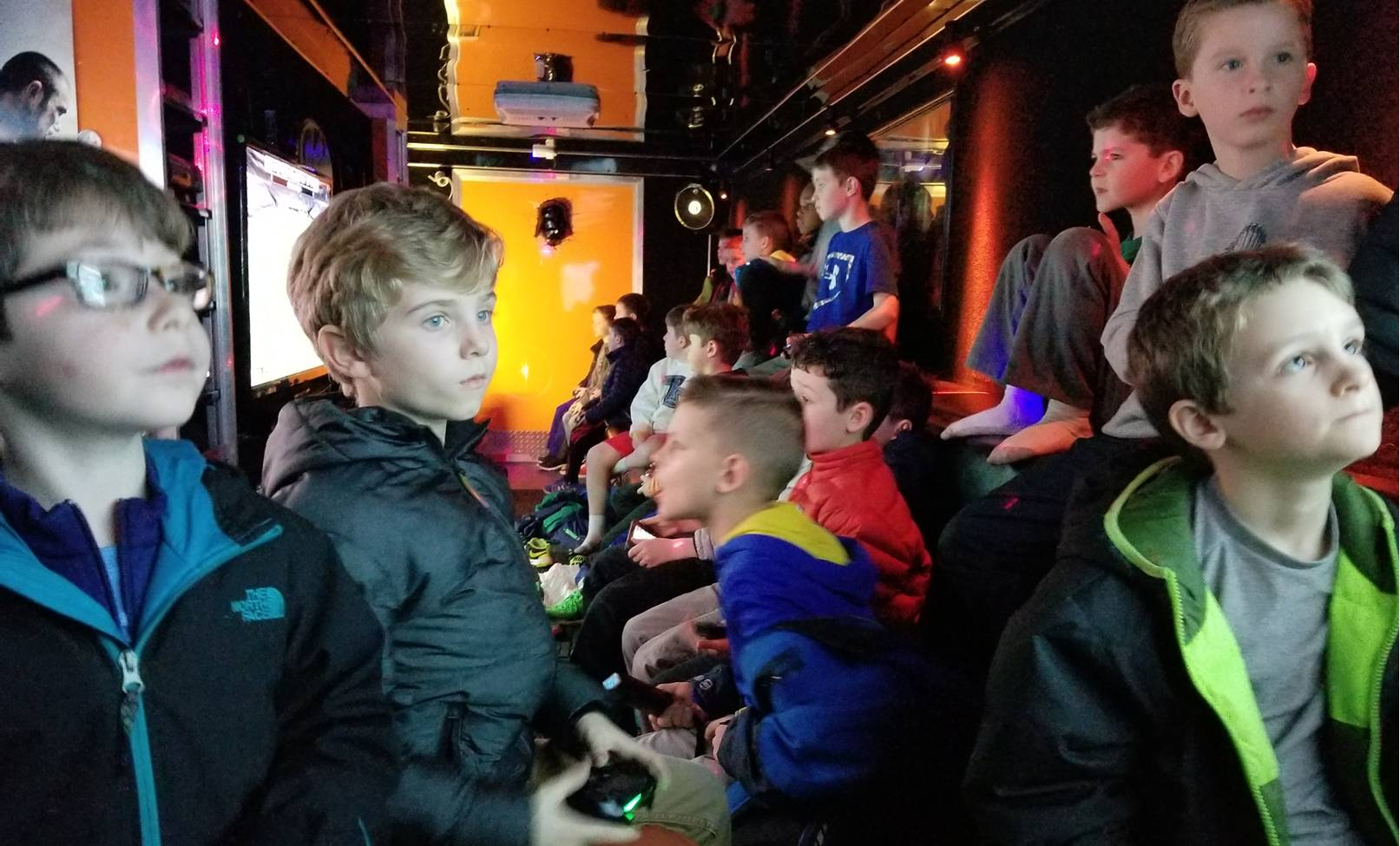 Video game truck party in Chicago