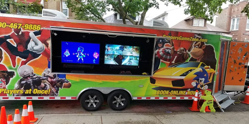 Our Luxurious Video Game Truck...